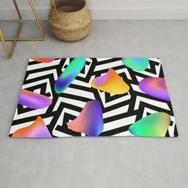 Liquid colors Rug