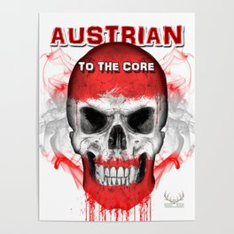 To The Core Collection: Austria Poster