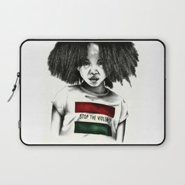 Stop the Violence Laptop Sleeve