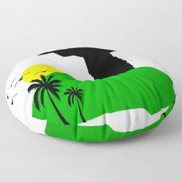 Rio de Janeiro Floor Pillow