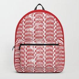 As Advertised - Red Backpack
