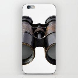 Vintage binoculars iPhone Skin