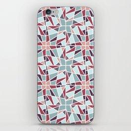 Pointy Pinwheel iPhone Skin