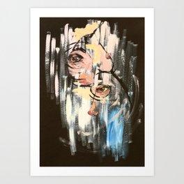 Abstact Angela, 2018 Art Print
