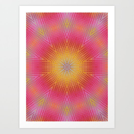BAM! it's summer! Art Print
