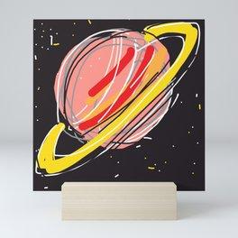 Saturn Mini Art Print