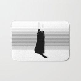 Cat Scratch Bath Mat
