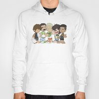 1d Hoodies featuring Sleepy 1D by Ashley R. Guillory