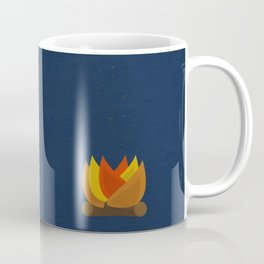 Camping Series: fire Coffee Mug