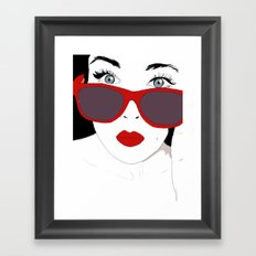 Close Up Framed Art Print