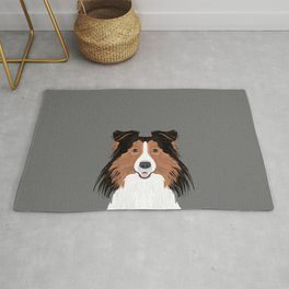 Jordan - Shetland Sheep Dog gifts for sheltie owners and dog people gift ideas perfect dog gifts Rug