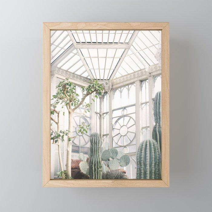 Greenhouse Framed Mini Art Print