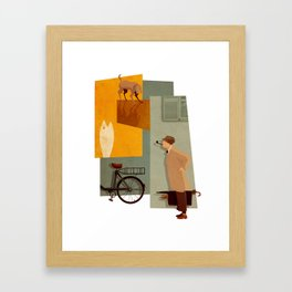 Mon Oncle Framed Art Print
