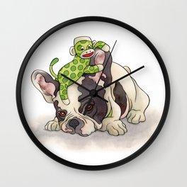 Pouting Bubba Wall Clock