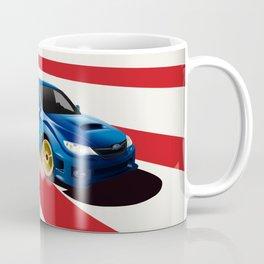 Rising Sun Subie Coffee Mug