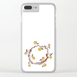Honey Ant Roundabout Clear iPhone Case