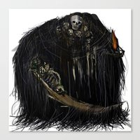 dark souls Canvas Prints featuring Gravelord Nito - Dark Souls by VerticalSynapse