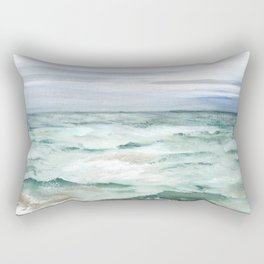 Oceanscape of Anna Maria Island Florida. Rectangular Pillow