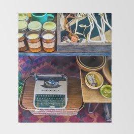 Typerwriter Throw Blanket