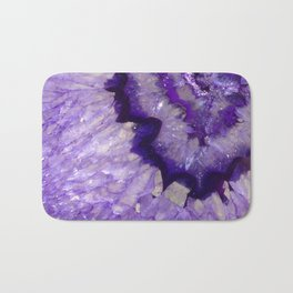 Purple Crystal Bath Mat