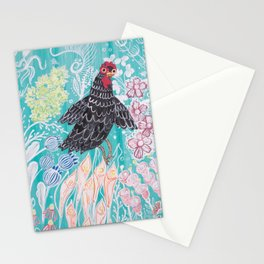 Elmer Finds a Field of Flowers Stationery Cards