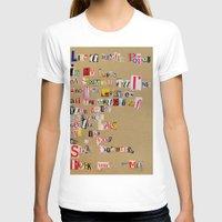 cigarettes T-shirts featuring Stale Cigarettes by Maison Fioravante - Fine Artist
