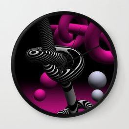 go pink -15- Wall Clock
