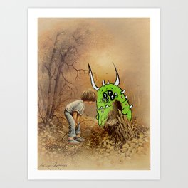 Snips, Snails, Sugar and Spice part 2 Art Print