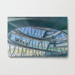 Inside London's City Hall Metal Print