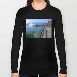Southside Bowl Huntington Beach Pier Long Sleeve T-shirt