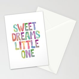 Sweet Dreams Little One Stationery Cards
