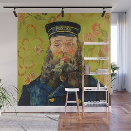 Vincent van Gogh - The Postman Wall Mural