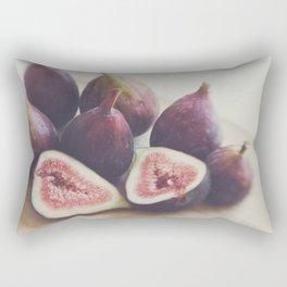 A Little Figgy Rectangular Pillow