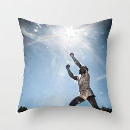 King Billy Throw Pillow