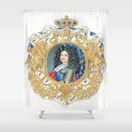 King Louis XIV Shower Curtain