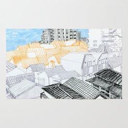Tokyo landscape Rug