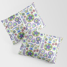 Ernst Haeckel Rainbow Diatoms Pillow Sham