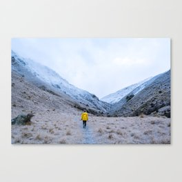 A Winters Morning Canvas Print