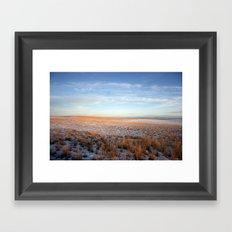 Barren Framed Art Print