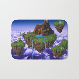 Floating Kingdom of ZEAL - Chrono Trigger Bath Mat