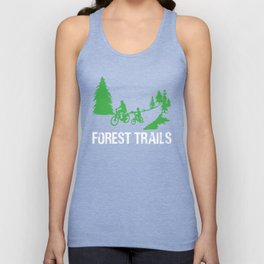 Forest Trails Unisex Tank Top