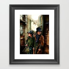 Oliver Framed Art Print