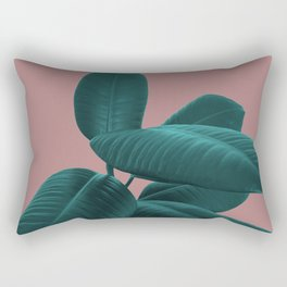 Ficus Elastica #9 #AshRose #decor #art #society6 Rectangular Pillow