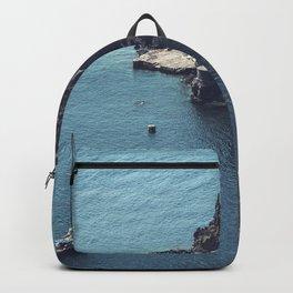Santorini, Greece 25 Backpack