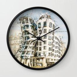Dancing House, Prague Wall Clock