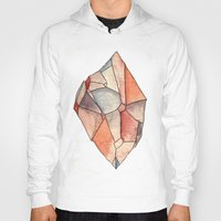 crystal Hoodies featuring Crystal  by Matt Smith