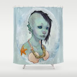 A Little Mermaid Shower Curtain