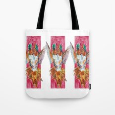 The Ultimate Pollinator, Triptych Tote Bag
