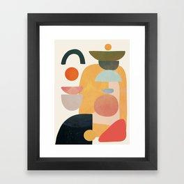 Modern Abstract Art 70 Framed Art Print