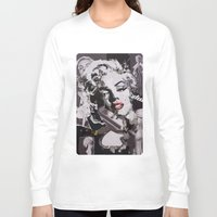 monroe Long Sleeve T-shirts featuring Monroe by Ross Collins Artist
